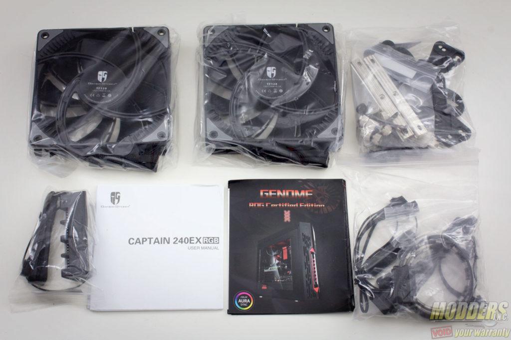 Deepcool Captain 240EX RGB AIO CPU Cooler Review AIO, Captain 240EX, CPU Cooler, Deepcool, rgb led 1