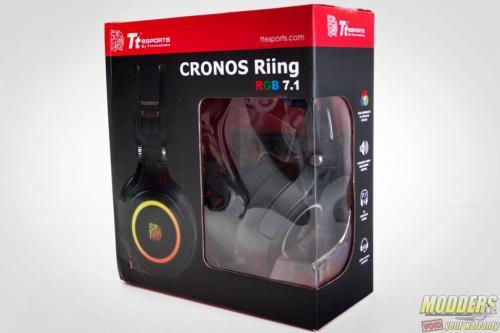 Tt eSPORTS Cronos Riing RGB 7.1 Headset Box Front