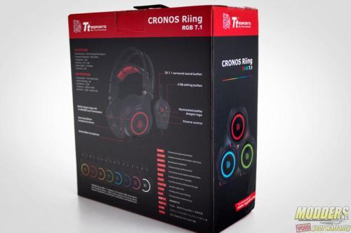Tt eSPORTS Cronos Riing RGB 7.1 Headset Box Back