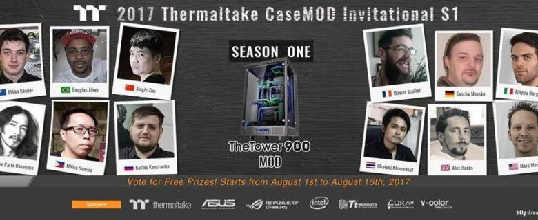 Photo of Thermaltake 2017 CaseMOD Invitational Season 1 Voting Now Open