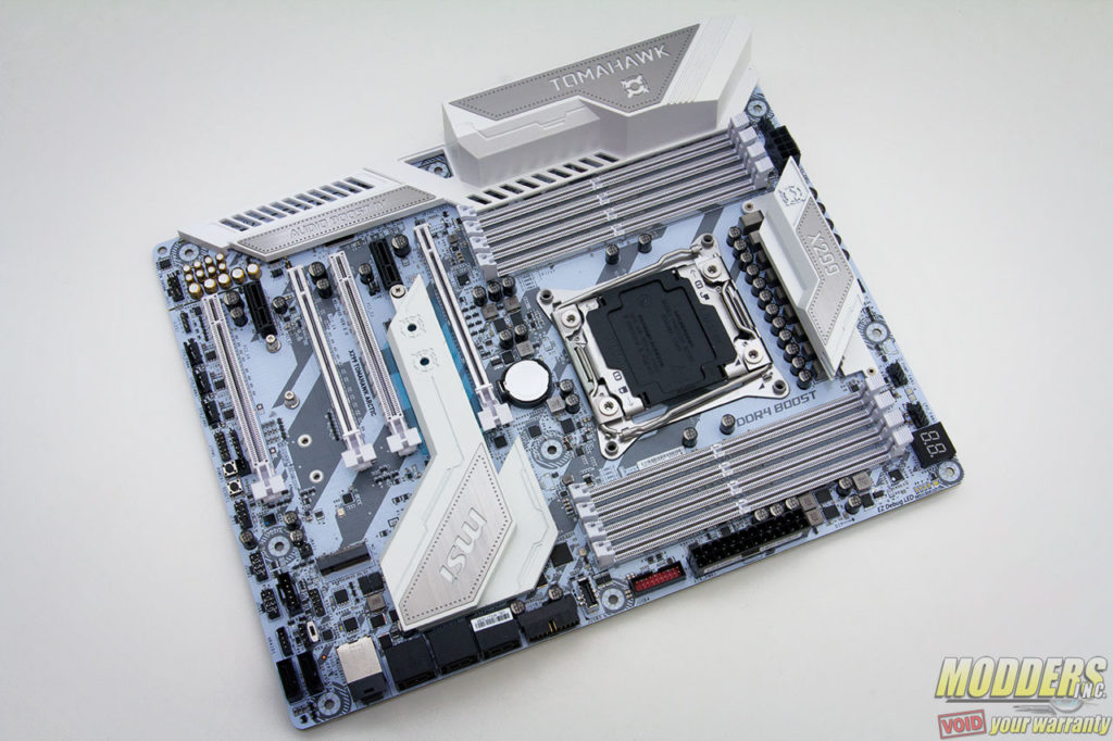 MSI X299 Tomahawk Arctic Motherboard Review