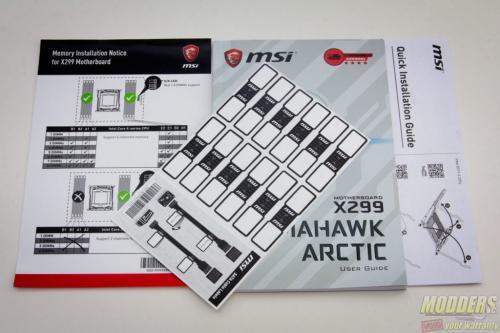 MSI X299 Tomahawk Arctic Motherboard Review