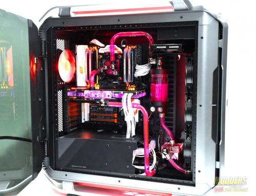Cooler Master Cosmos C700P Case Review C700P, Cooler Master, Cosmos, custom loop, PC Cases, RGB Lighting 16