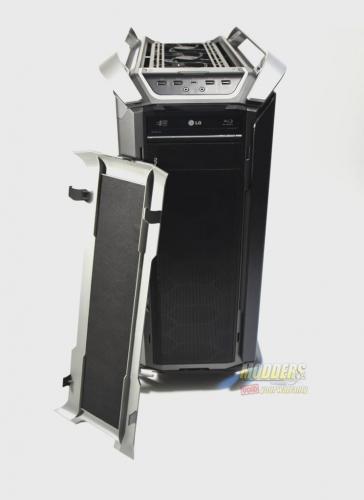 Cooler Master Cosmos C700P Case Review C700P, Cooler Master, Cosmos, custom loop, PC Cases, RGB Lighting 8