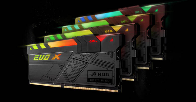 Photo of GeIL Announces EVO X ROG-certified RGB Gaming Memory