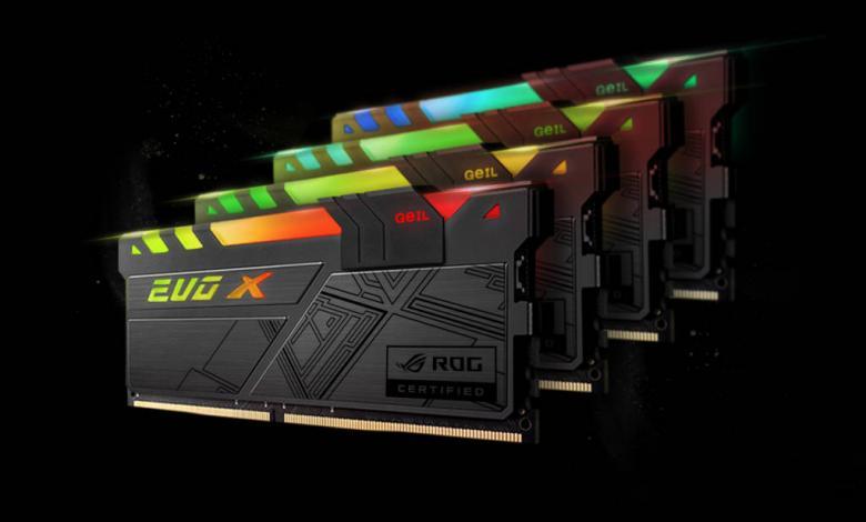 Photo of GeIL Announces EVO X ROG-certified RGB Gaming Memory