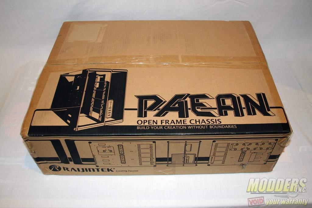 Raijintek PAEAN Case Review Case, open-frame, PAEAN, Raijintek 1