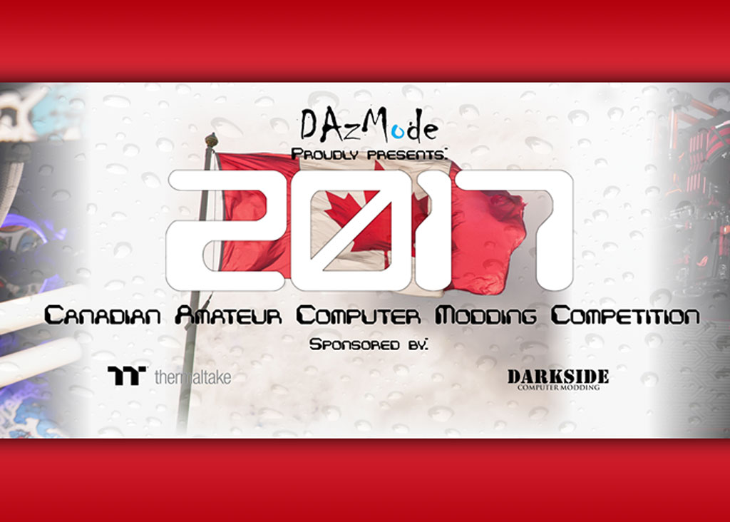 Canada Amateur PC Modding Competition 2017 Launched amateur, canada, casemodding, competition 1