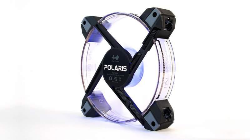 InWin Polaris Premium Fan Series Now Available 120mm, InWin, polaris, rgb led