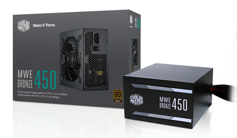 Cooler Master Introduces MWE Bronze PSU Series