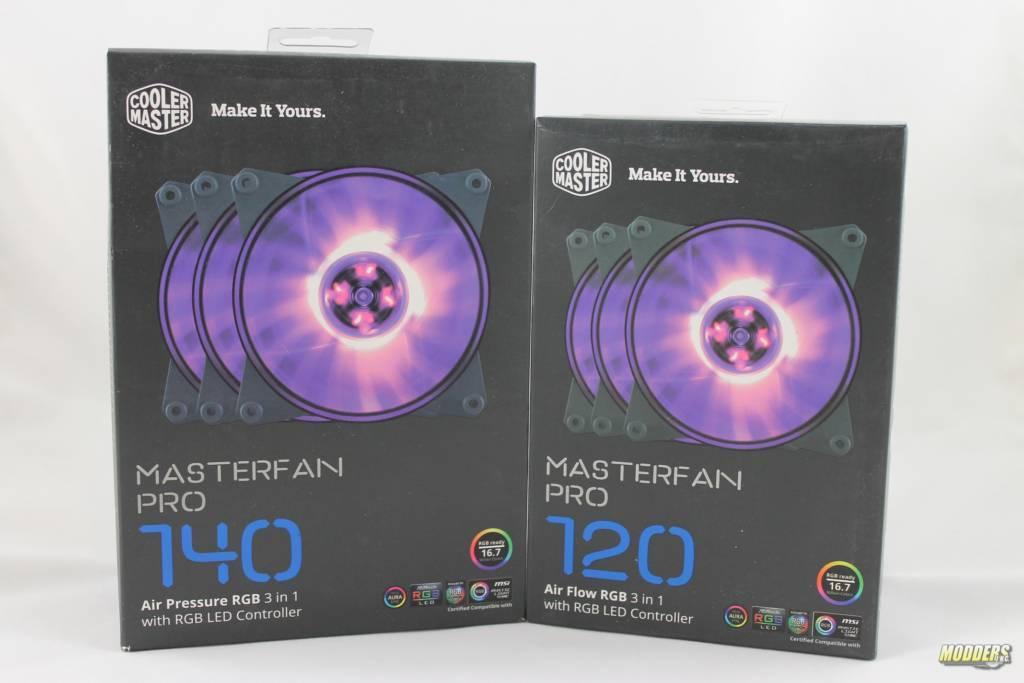 Coolermaster Masterfan Pro RGB