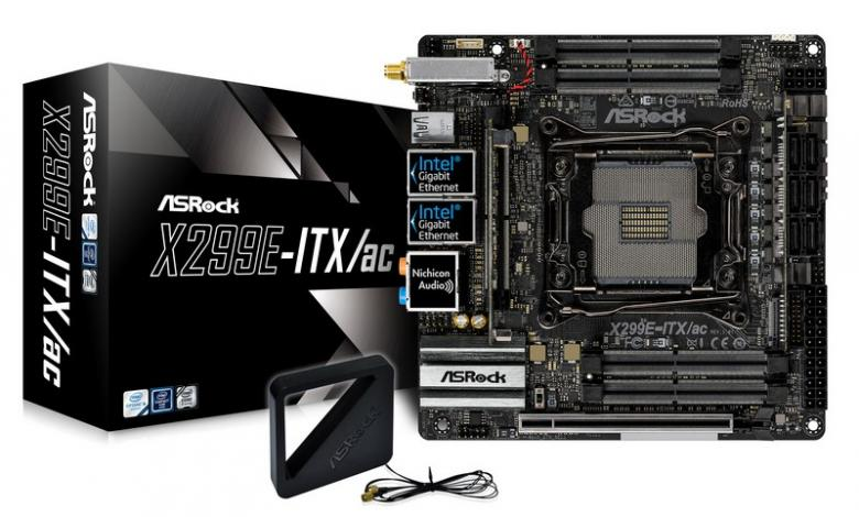 Photo of ASRock Introduces X299E-ITX/ac Motherboard