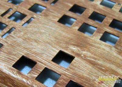 Wood Veneer keyboard