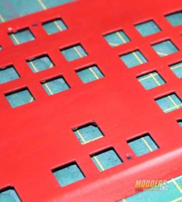 Modding Three Gram Keyboard Plates for Tesoro to Giveaway worn and rusted tesoro keyboard 2