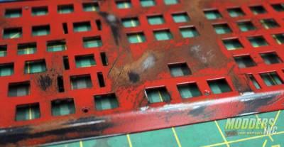 Modding Three Gram Keyboard Plates for Tesoro to Giveaway worn and rusted tesoro keyboard 3