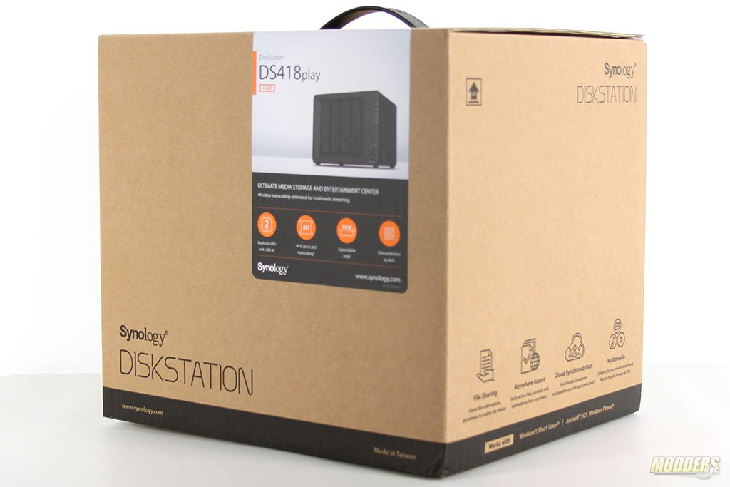 Synology DiskStation DS418play NAS Review — Modders-Inc