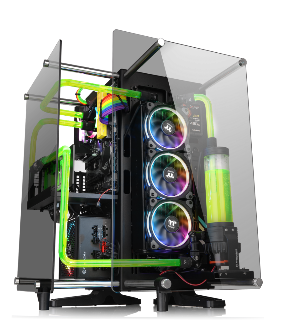 Thermaltake Modding Fighting Championship: Season 2 Thermaltake Core P90 Tempered Glass Edition Mid Tower Chassis