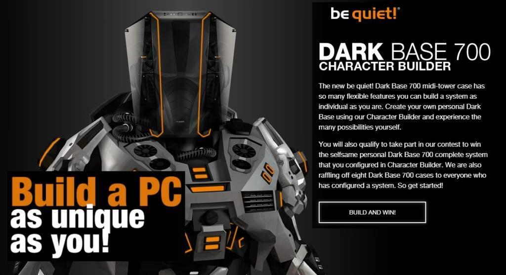 Create your own be quiet! Dark Base 700 be quiet Dark Base 700, be quiet!, Case, contest, dark base 1