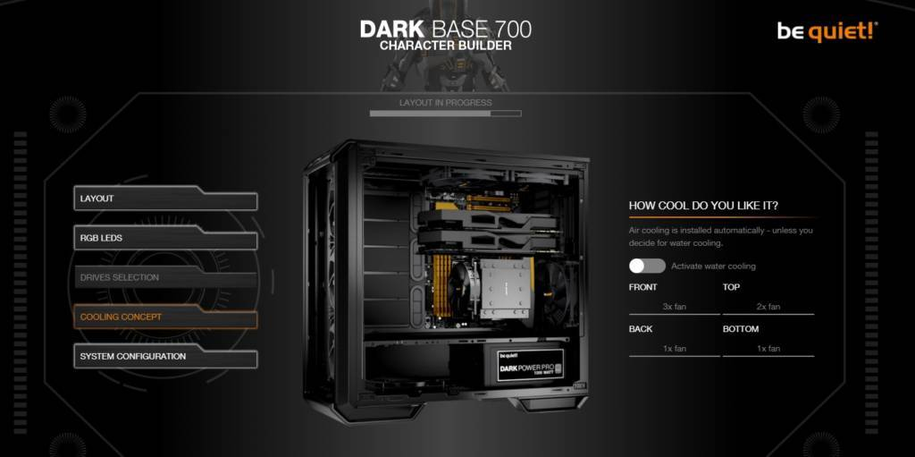 Dark Base 700 inverted
