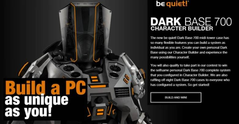 Photo of Create your own be quiet! Dark Base 700