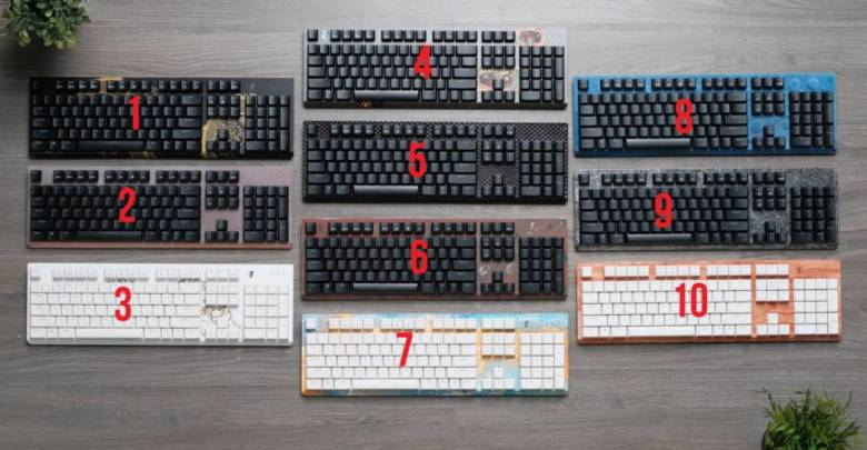 Modders Inc Tesoro Keyboard giveaway