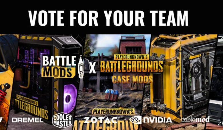 Photo of It is time to Vote for your favorite PUBG Case Mod