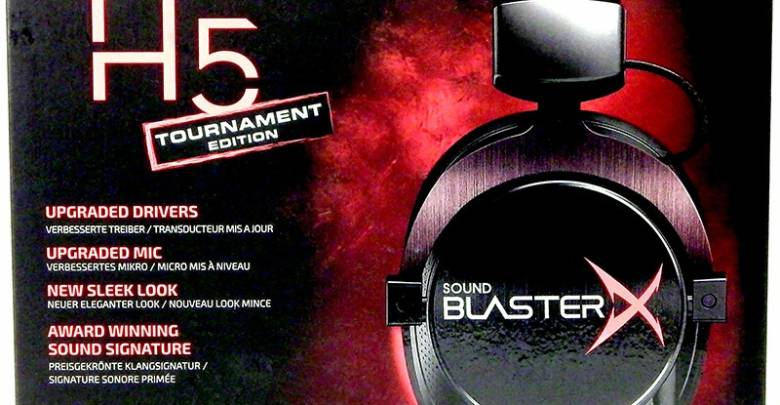 Photo of Sound Blaster Pro-Gaming H5 Tournament Edition Headset Review