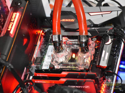 The AORUS Z370 Gaming 7 Motherboard Review testsystem