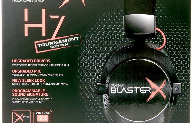 Creative Sound BlasterX Pro-Gaming H7 Tournament Edition Gaming Headset
