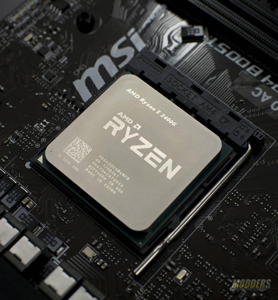 AMD Ryzen R3 2200G & R5 2400G Raven Ridge APU Review — Page 3 of 3