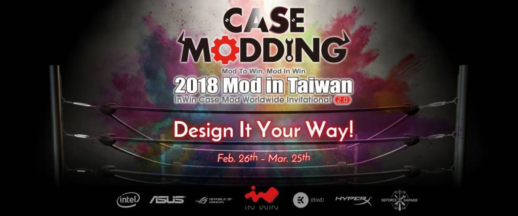 Modding the In Win 303 in a Design Competition Live Event