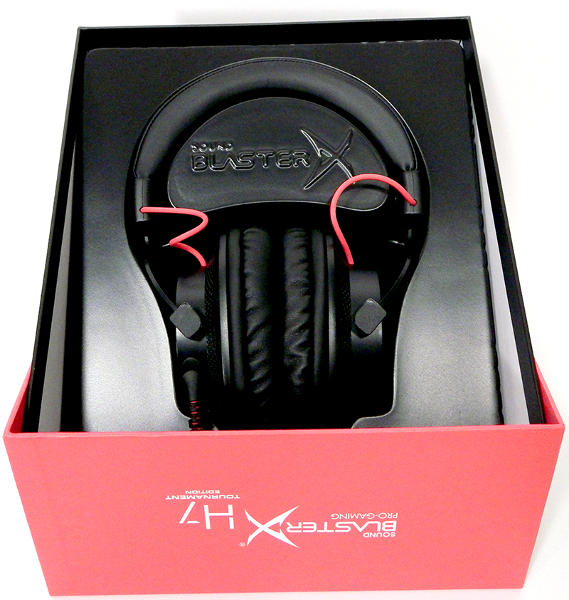 9c089c7d02f Creative Sound BlasterX Pro-Gaming H7 Tournament Edition Gaming Headset