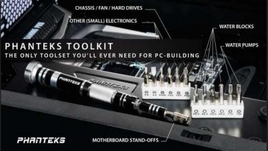 Photo of Phanteks Introduces Their New PC Tool Kit