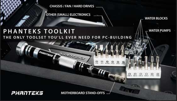 Phanteks Introduces Their New PC Tool Kit