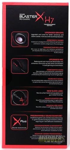 Creative Sound BlasterX Pro-Gaming H7 Tournament Edition Gaming Headset
