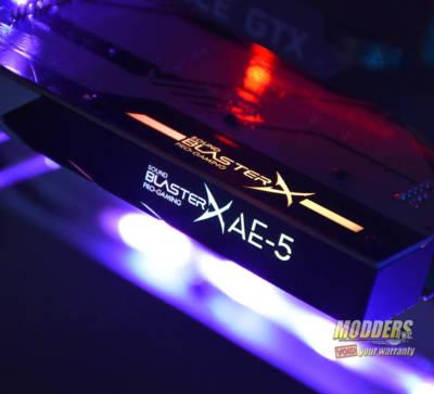 Sound BlasterX AE-5 Sound Card Review AE-5, Creative, Creative Labs, sound blaster, sound card 1