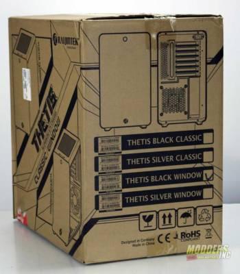 Raijintek THETIS Window Aluminum Case Review raijintek thetis case 02
