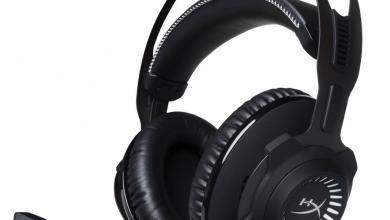 HyperX Cloud Revolver Gunmetal Gaming Headset, USB Audio 3