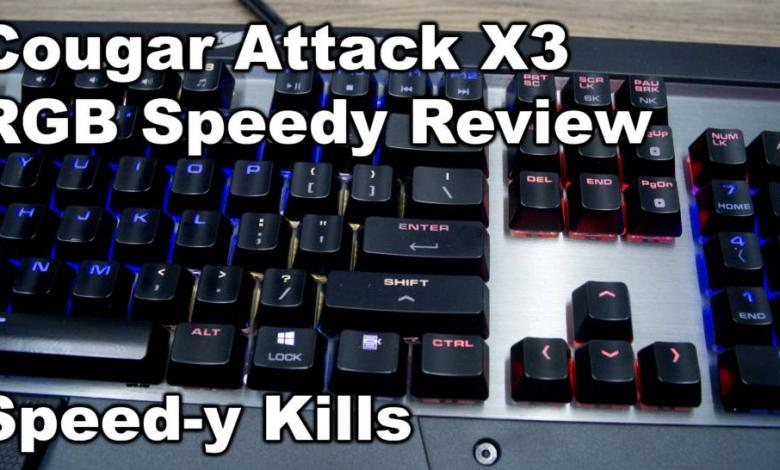Photo of Cougar Attack X3 RGB Speedy Keyboard Video Review