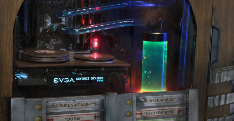 Photo of EVGA Jukebox Case Mod