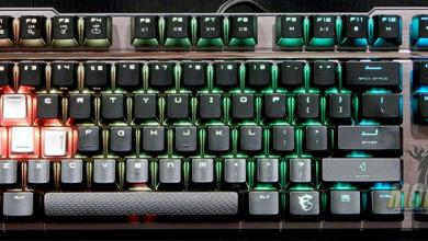 MSI Vigor GK70 Gaming Keyboard