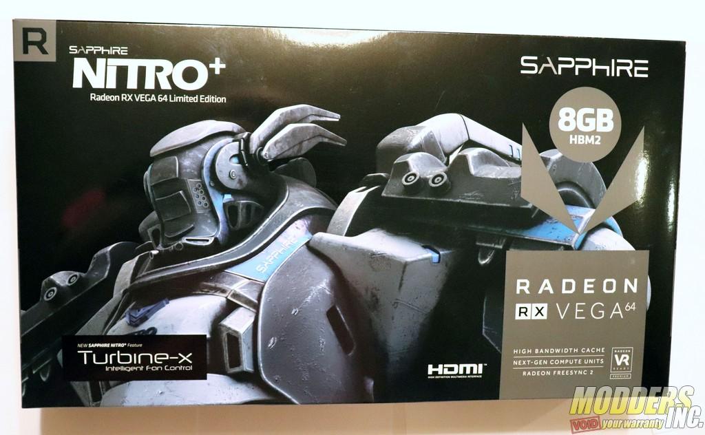 Sapphire NITRO+ Radeon RX Vega 64 Limited Edition AMD, Gaming, GPU, Graphic Card, NITRO, RX VEGA 64, Sapphire, Video Card 3
