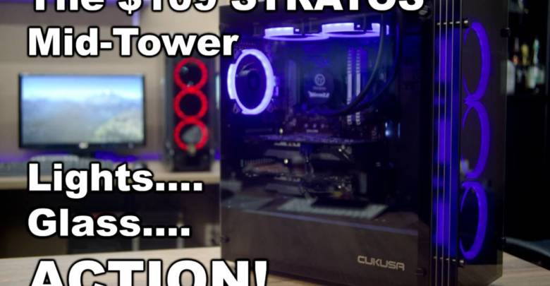 Photo of Stratos Mid-Tower Case Video Review