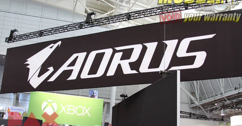 Photo of Aorus @ PAX East 2018