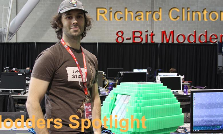 Photo of Modder Spotlight:  Richard Clinton (8-Bit Builder)