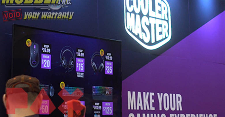 Photo of Cooler Master @ PAX East 2018