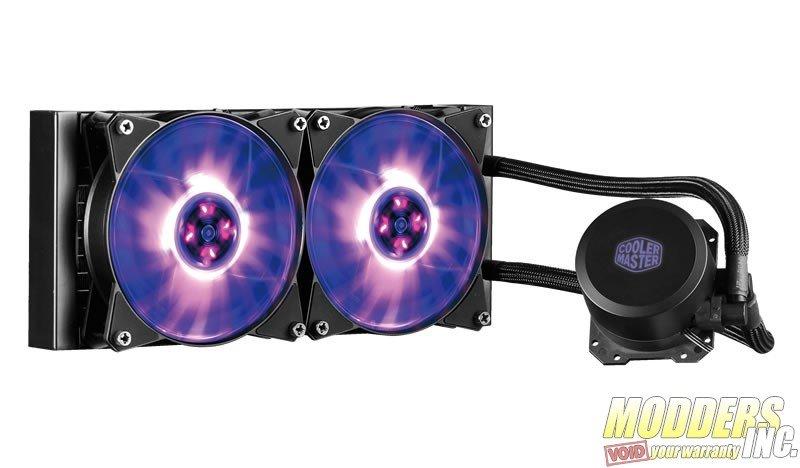 Cooler Master MasterLiquid ML240L RGB Review — Modders-Inc