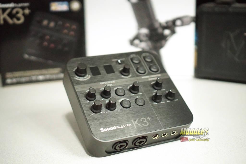 Sound Blaster K3+ Audio Interface