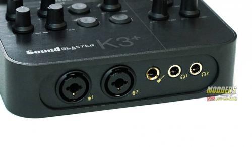 Sound Blaster K3+ Audio Interface DSC01850