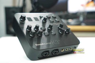 Sound Blaster K3+ Audio Interface DSC01854